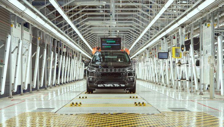 """FCA, prodotti a Melfi i modelli """"green"""" di Jeep Renegade e Compass - Foto 20 di 20"""