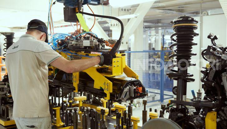 """FCA, prodotti a Melfi i modelli """"green"""" di Jeep Renegade e Compass - Foto 8 di 20"""