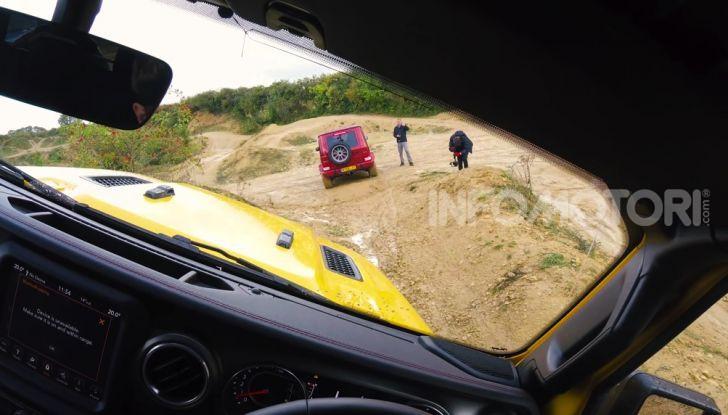 [VIDEO] La sfida Offroad tra Jimny, Classe G Wrangler - Foto 15 di 19