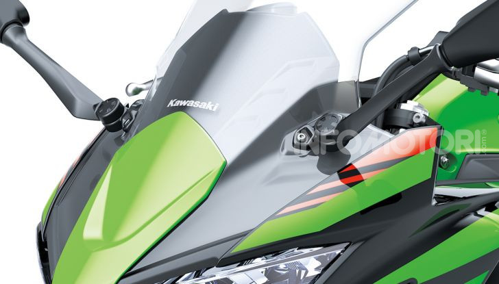 Nuova Kawasaki Ninja 650 MY 2020: tanta tecnologia a servizio del pilota - Foto 1 di 37