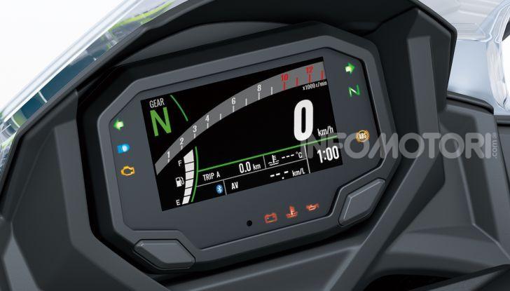 Nuova Kawasaki Ninja 650 MY 2020: tanta tecnologia a servizio del pilota - Foto 2 di 37