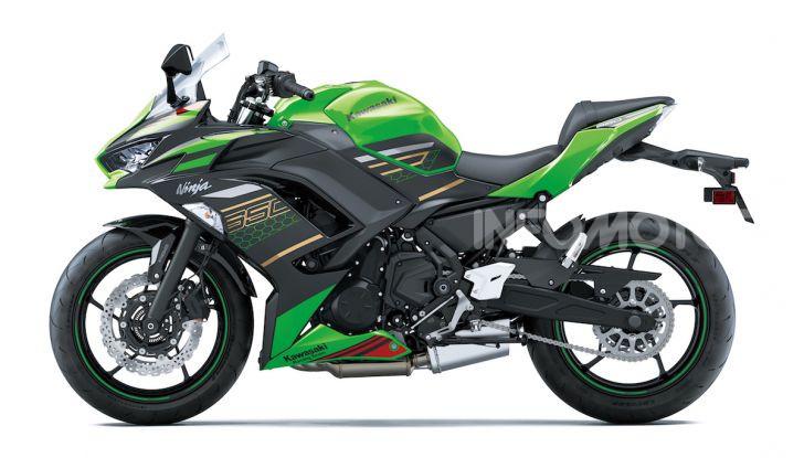 Nuova Kawasaki Ninja 650 MY 2020: tanta tecnologia a servizio del pilota - Foto 20 di 37
