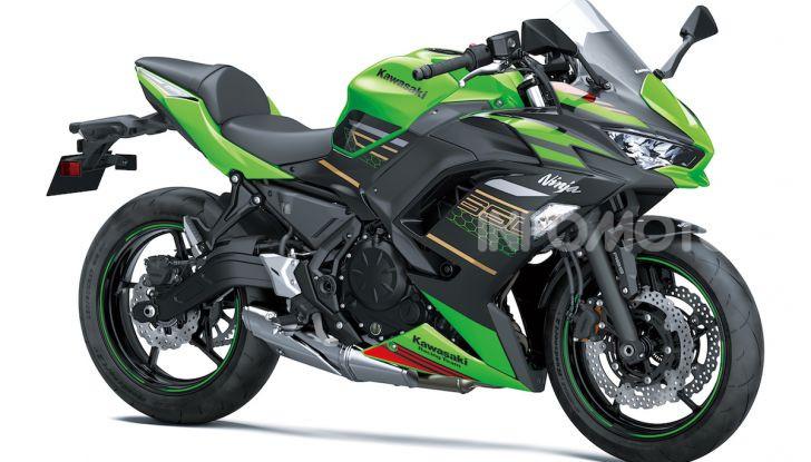 Nuova Kawasaki Ninja 650 MY 2020: tanta tecnologia a servizio del pilota - Foto 21 di 37