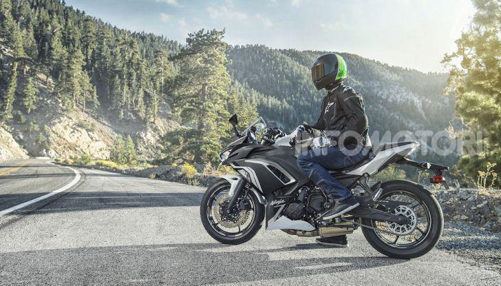 Nuova Kawasaki Ninja 650 MY 2020: tanta tecnologia a servizio del pilota - Foto 29 di 37