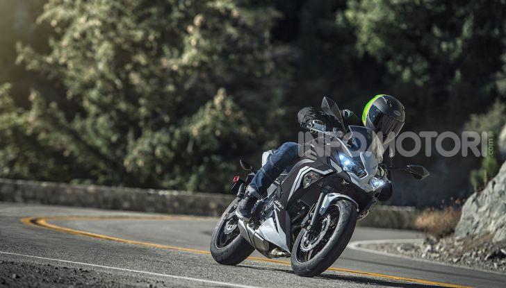 Nuova Kawasaki Ninja 650 MY 2020: tanta tecnologia a servizio del pilota - Foto 30 di 37
