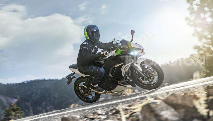 Nuova Kawasaki Ninja 650 MY 2020: tanta tecnologia a servizio del pilota - Foto 35 di 37