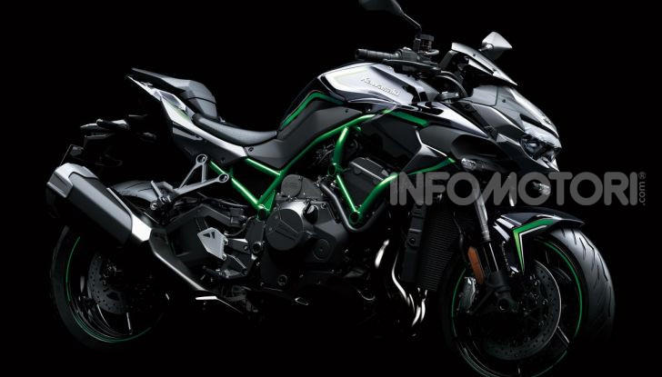 [VIDEO] Kawasaki Z H2: la Naked col Turbo ha 200CV! - Foto 3 di 14