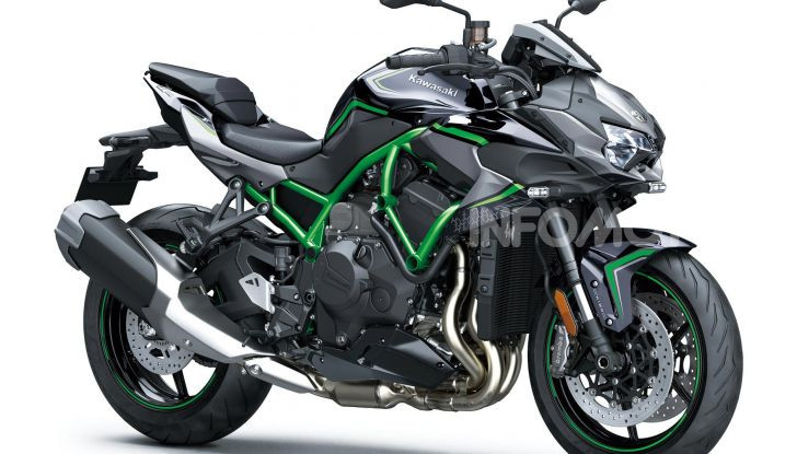 [VIDEO] Kawasaki Z H2: la Naked col Turbo ha 200CV! - Foto 9 di 14