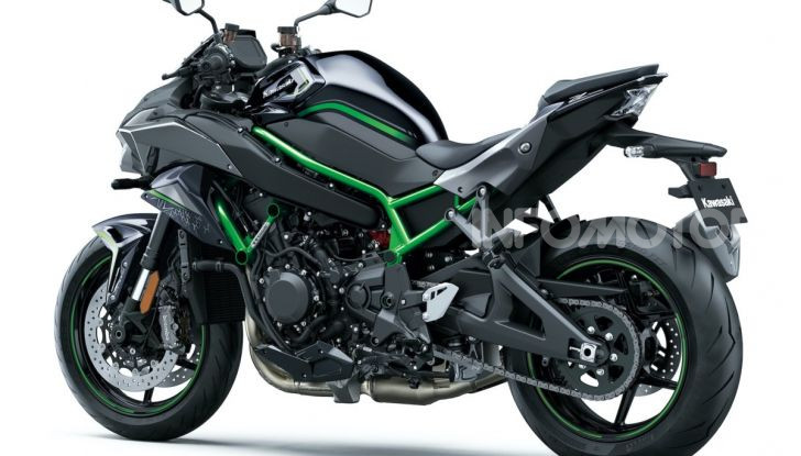 [VIDEO] Kawasaki Z H2: la Naked col Turbo ha 200CV! - Foto 4 di 14