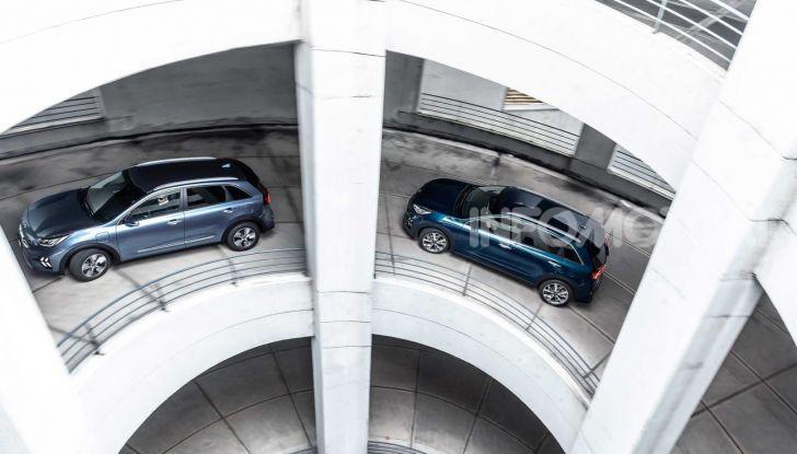 Kia Niro 2019: ecco la versione ibrida ed ibrida Plug-In - Foto 4 di 6