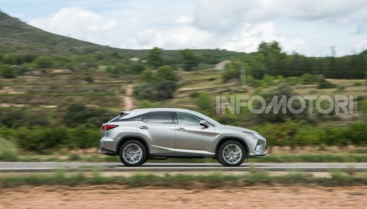 Lexus RX Hybrid MY 2020: muscoli, tecnologia ed eleganza - Foto 14 di 25