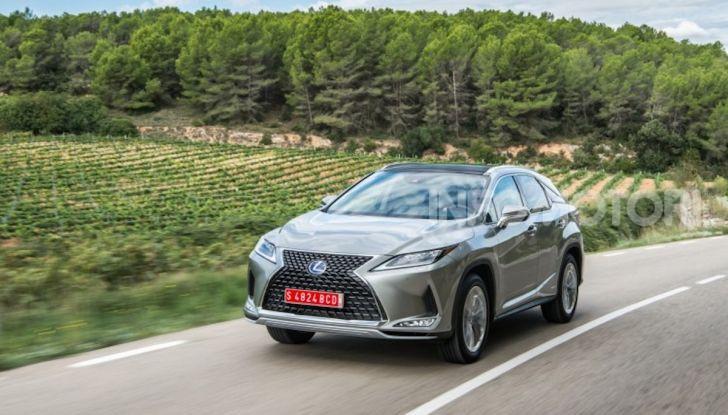 Lexus RX Hybrid MY 2020: muscoli, tecnologia ed eleganza - Foto 18 di 25