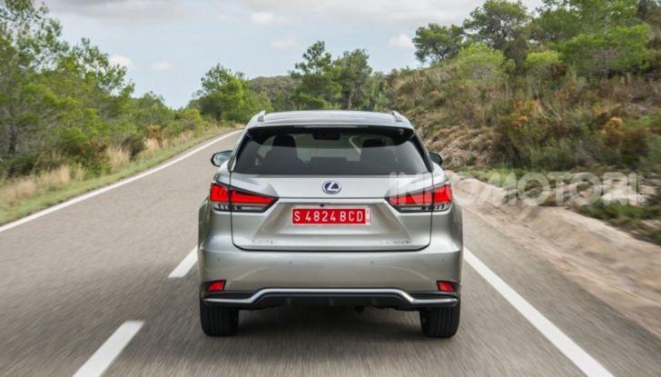Lexus RX Hybrid MY 2020: muscoli, tecnologia ed eleganza - Foto 20 di 25