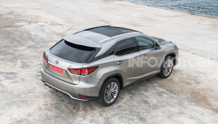 Lexus RX Hybrid MY 2020: muscoli, tecnologia ed eleganza - Foto 22 di 25