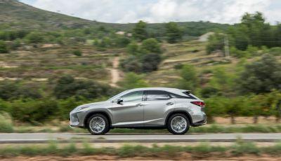 Lexus RX Hybrid MY 2020: muscoli, tecnologia ed eleganza