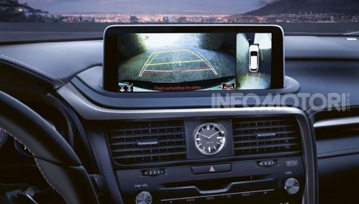 Lexus RX Hybrid MY 2020: muscoli, tecnologia ed eleganza - Foto 4 di 25