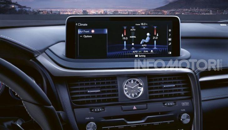 Lexus RX Hybrid MY 2020: muscoli, tecnologia ed eleganza - Foto 5 di 25