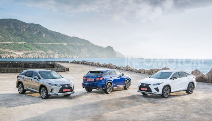 Lexus RX Hybrid MY 2020: muscoli, tecnologia ed eleganza - Foto 6 di 25