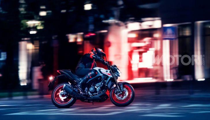Nuova Yamaha MT-03 2020: stile e prestazioni su due ruote - Foto 3 di 8