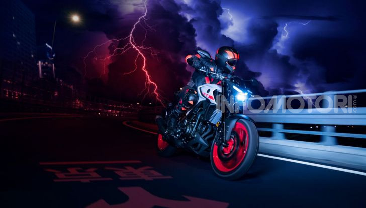 Nuova Yamaha MT-03 2020: stile e prestazioni su due ruote - Foto 6 di 8