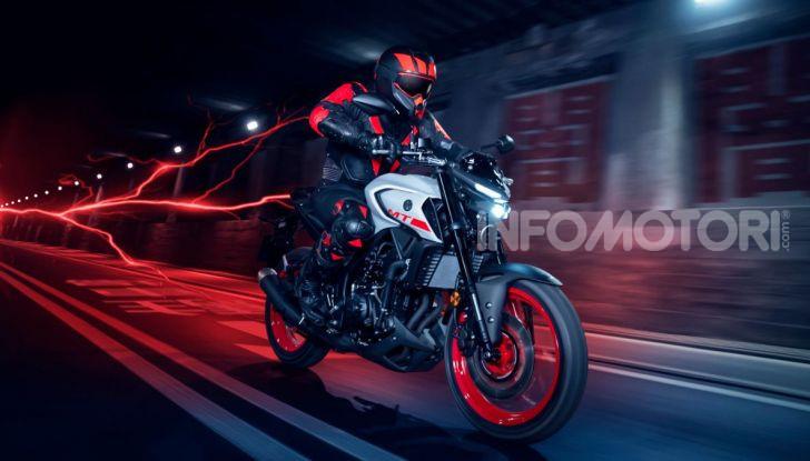 Nuova Yamaha MT-03 2020: stile e prestazioni su due ruote - Foto 1 di 8
