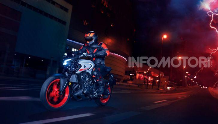 Nuova Yamaha MT-03 2020: stile e prestazioni su due ruote - Foto 8 di 8