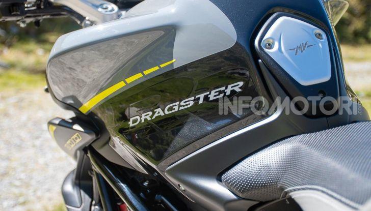 Prova MV Agusta Dragster 800 RR 2019: arte in movimento - Foto 7 di 47
