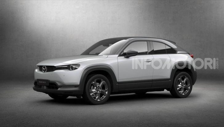 Mazda MX-30: l'auto elettrica con materiali ecologici - Foto 1 di 8