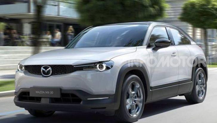 Mazda MX-30: l'auto elettrica con materiali ecologici - Foto 2 di 8