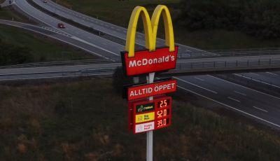 McCharge: da McDonald's arrivano le colonnine per auto elettriche