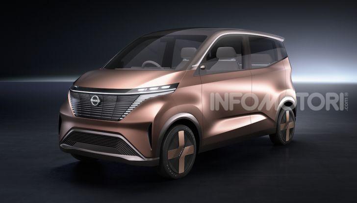 Nissan IMk: la city car compatta, elettrica e intelligente - Foto 1 di 9
