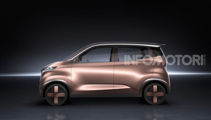 Nissan IMk: la city car compatta, elettrica e intelligente - Foto 3 di 9