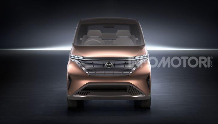 Nissan IMk: la city car compatta, elettrica e intelligente - Foto 4 di 9