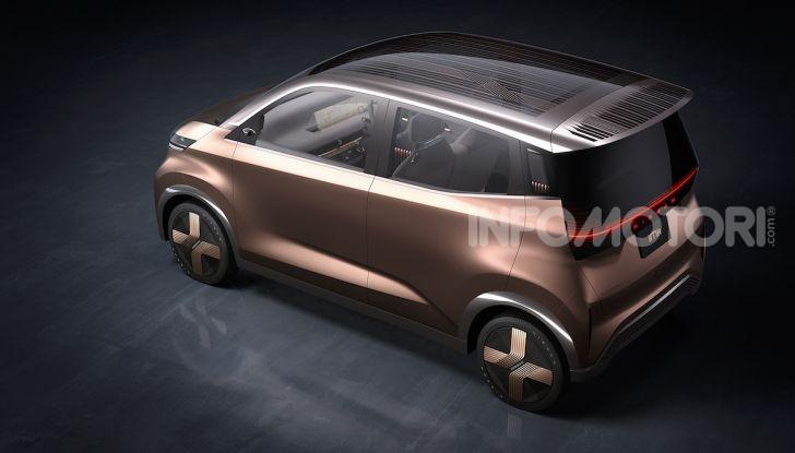 Nissan IMk: la city car compatta, elettrica e intelligente - Foto 5 di 9