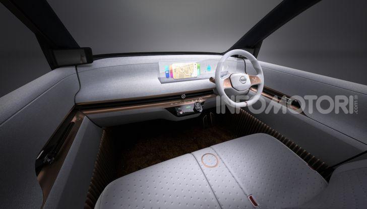 Nissan IMk: la city car compatta, elettrica e intelligente - Foto 6 di 9
