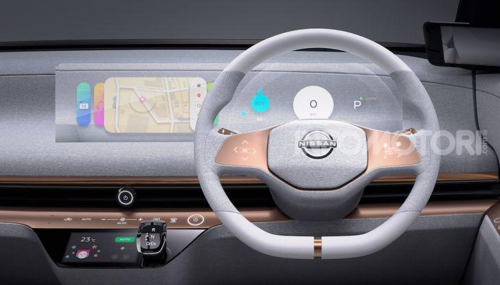 Nissan IMk: la city car compatta, elettrica e intelligente - Foto 7 di 9