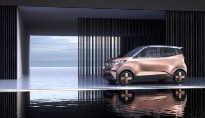 Nissan IMk: la city car compatta, elettrica e intelligente