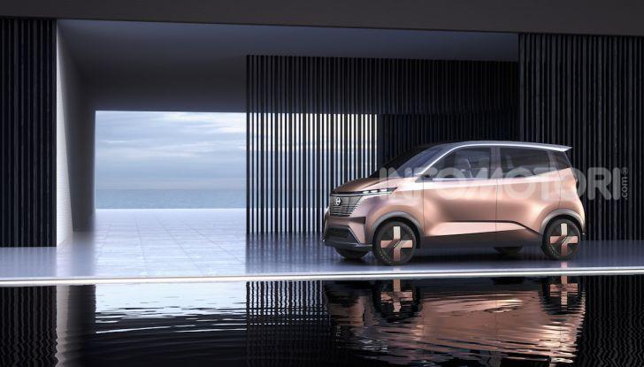 Nissan IMk: la city car compatta, elettrica e intelligente - Foto 8 di 9