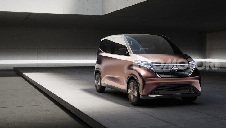 Nissan IMk: la city car compatta, elettrica e intelligente - Foto 9 di 9