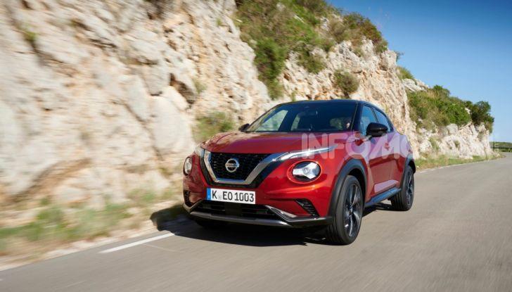 Prova su strada Nissan Juke 2020: tecnologia e sicurezza per il nuovo B-Crossover - Foto 18 di 26