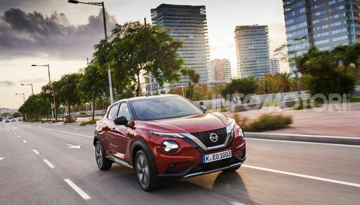 Prova su strada Nissan Juke 2020: tecnologia e sicurezza per il nuovo B-Crossover - Foto 2 di 26