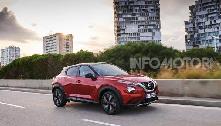 Prova su strada Nissan Juke 2020: tecnologia e sicurezza per il nuovo B-Crossover - Foto 19 di 26