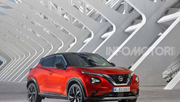 Prova su strada Nissan Juke 2020: tecnologia e sicurezza per il nuovo B-Crossover - Foto 3 di 26