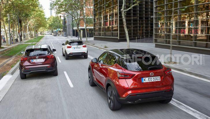 Prova su strada Nissan Juke 2020: tecnologia e sicurezza per il nuovo B-Crossover - Foto 20 di 26