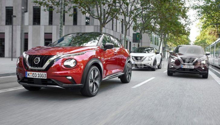 Prova su strada Nissan Juke 2020: tecnologia e sicurezza per il nuovo B-Crossover - Foto 1 di 26