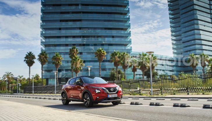 Prova su strada Nissan Juke 2020: tecnologia e sicurezza per il nuovo B-Crossover - Foto 22 di 26