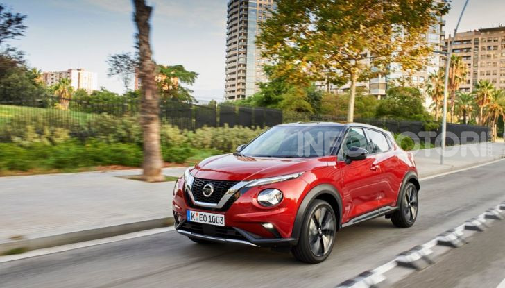 Prova su strada Nissan Juke 2020: tecnologia e sicurezza per il nuovo B-Crossover - Foto 23 di 26