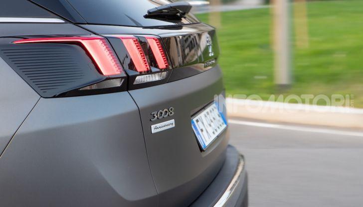 Peugeot 3008 Anniversary: il SUV top di gamma è in serie limitata - Foto 2 di 7