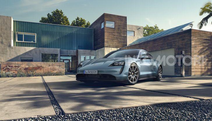 Porsche Taycan 4S, con la Performance Plus si arriva a 571CV - Foto 10 di 10