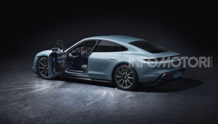 Porsche Taycan 4S, con la Performance Plus si arriva a 571CV - Foto 6 di 10